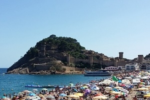 Tossa de Mar : the pearl of the Costa Brava in Spain