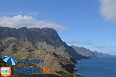 La côte ouest de Gran Canaria - Agaete