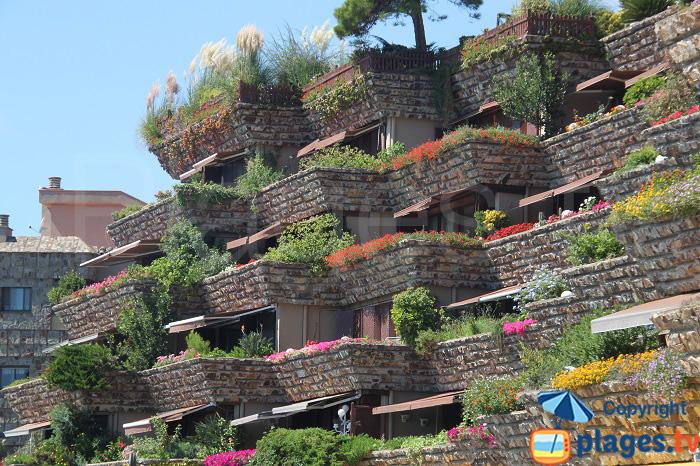 Architecture à Tossa de Mar