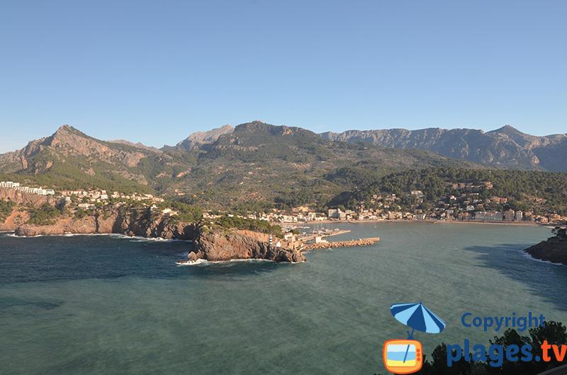Baie de Port Soller à Majorque