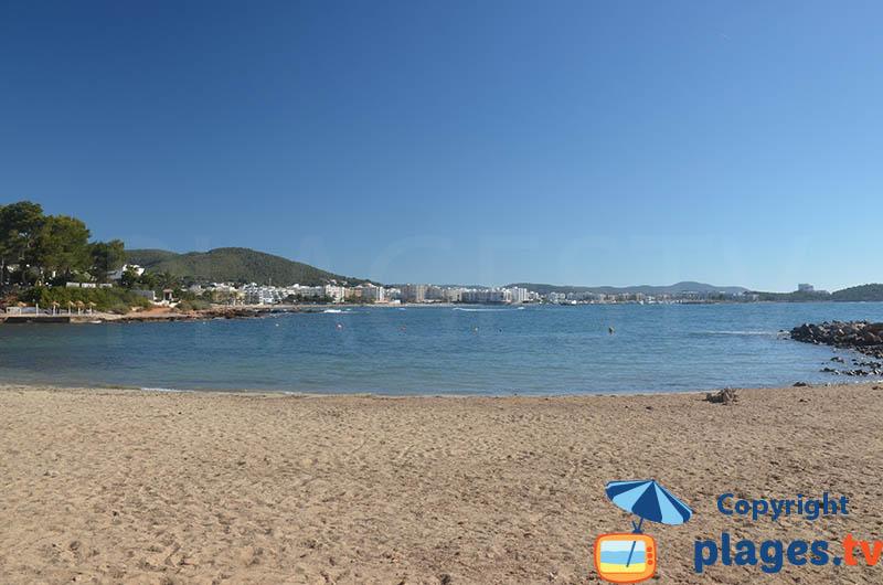 Baie de Santa Eularia des Riu à Ibiza