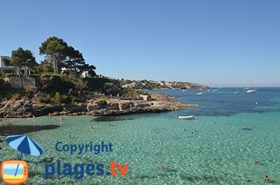Baignade à proximité d'El Arenal - Cala Blava - Majorque