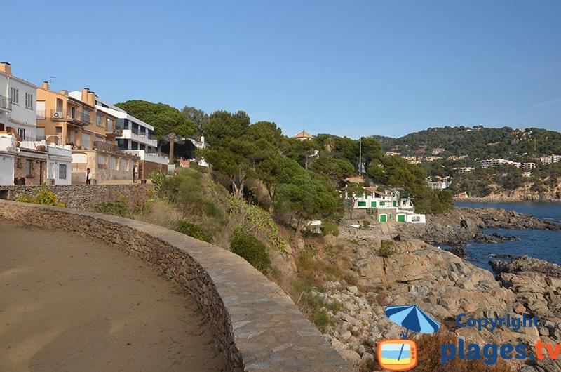 Sentier cotier de Palafrugell à Llafranc
