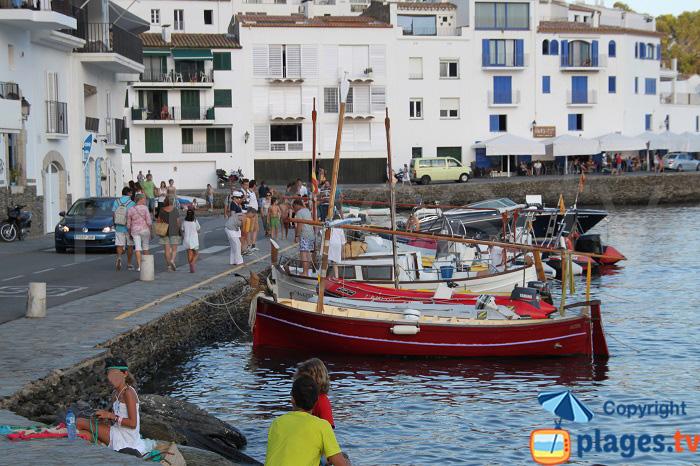 Barques de pêcheurs à Cadaquès