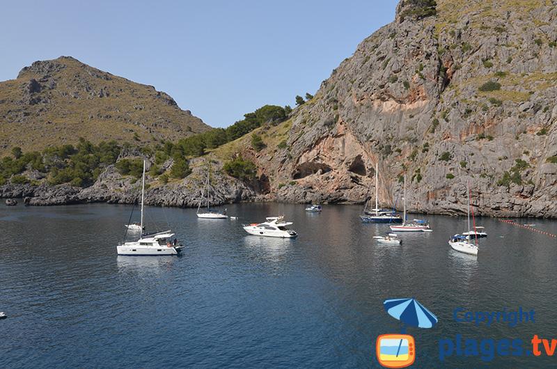 Sa Calobra : les falaises de Majorque