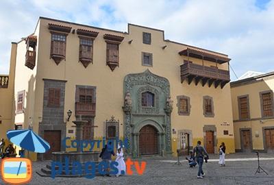 Batisse du 15ème dans la vieille ville de Las Palmas - Gran Canaria