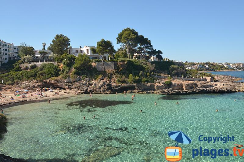 Belle crique de Cala Blava à Majorque