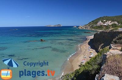 Belle crique à Ibiza - Santa Eulària des Riu