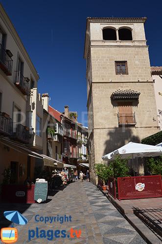 Belle ruelle dans Malaga