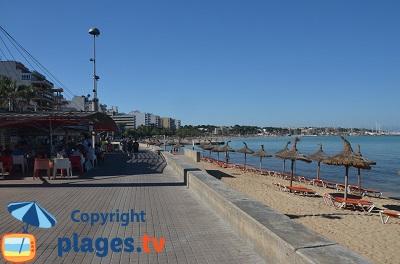 Bord de mer d'El Arenal - Majorque