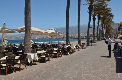 Bord de mer de Playa de las Américas à Tenerife