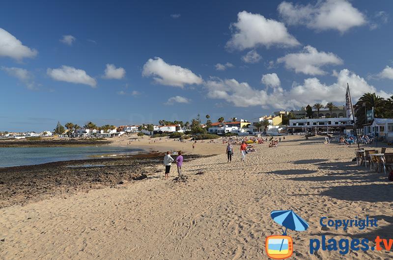 Bord de mer de Corralejo à Fuerteventura - Canaries