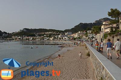 Bord de mer de Port Soller à Majorque