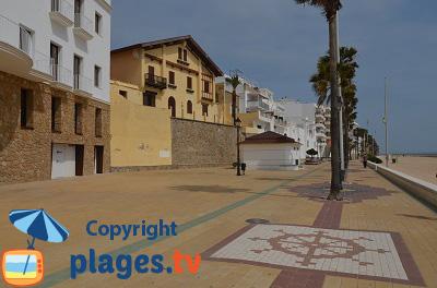 Bord de mer de Rota en Andalousie - Espagne