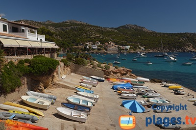 Bord de mer de Sant Elm à Majorque