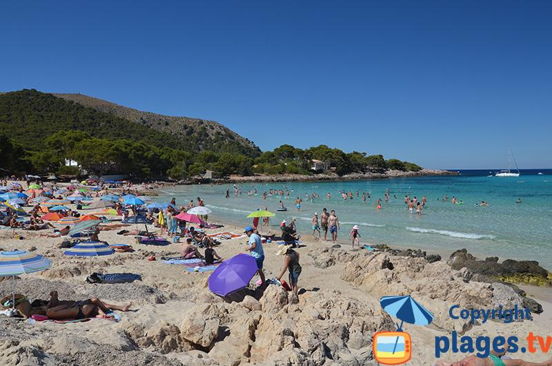 Cala Agulla : une belle plage du Nord de Majorque