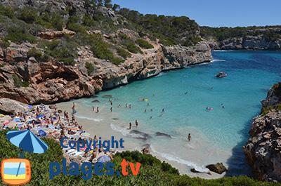 Cala Almonia à Majorque avec sa plage