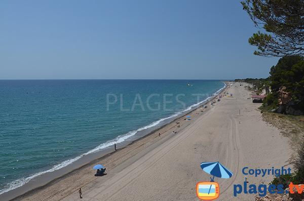Cala Angels et plage Cristall - Miami-Platja