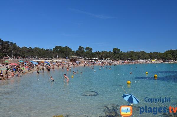 Baignade à Cala Bassa - Ibiza