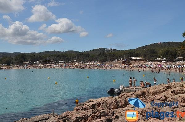 Baie et plage de Cala Bassa - Ibiza