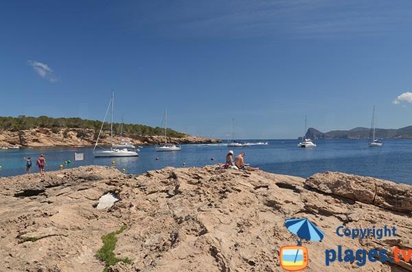 Cala Bassa à Ibiza
