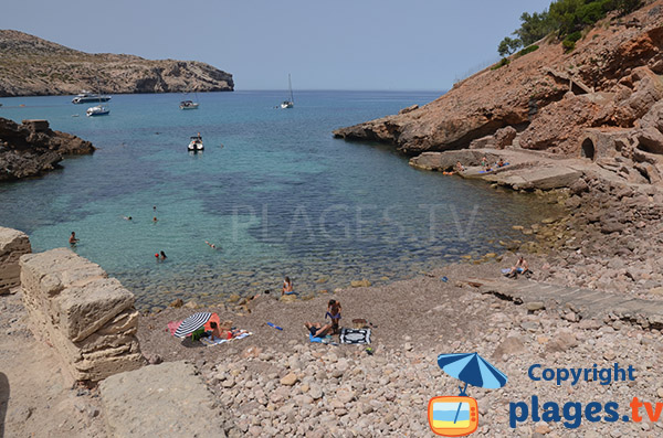 Photo de la Cala Carbo à Cala Sant Vicenc - Ile de Majorque