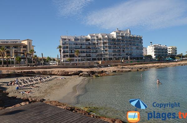 Photo de la plage des Moro - Sant Antoni de Portmany - Ibiza