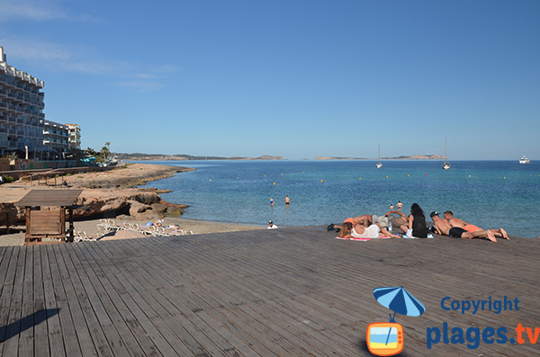 Artificial beach - Sant Antoni de Portmany - Ibiza