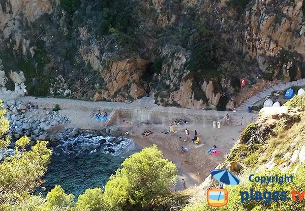 plage d'Es Codolar - Tossa de Mar - Costa Brava
