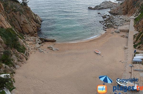 Playa El Codolar - Tossa de Mar