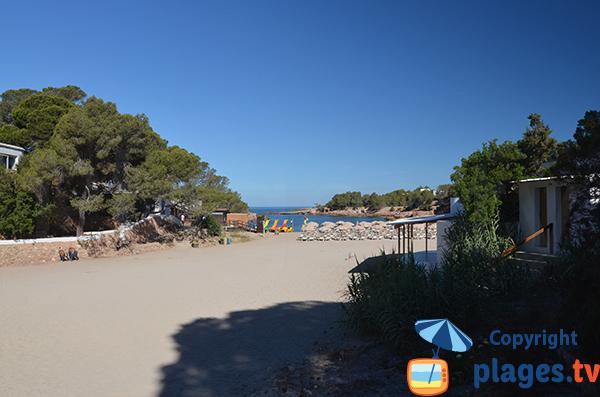 Cala Gracio à Sant Antonio - Ibiza