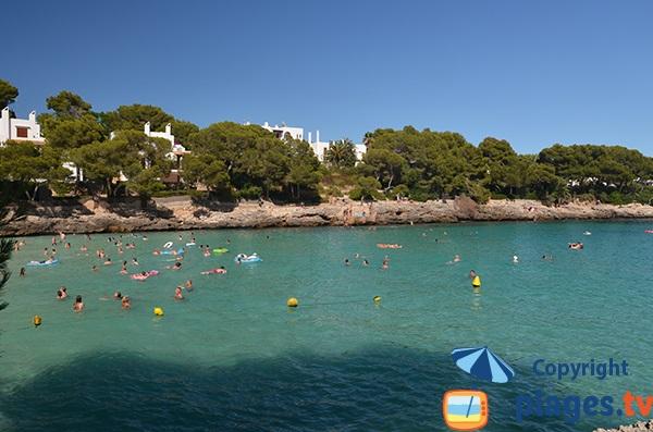 Baignade dans la Cala Gran - Majorque - Cala d'Or