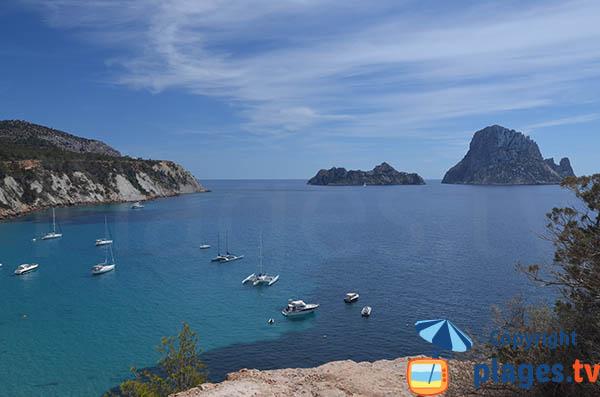 Ilots Es Vedra et Es Vedranell à Ibiza