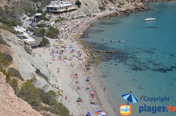 Cala Hort à Ibiza dans le sud-ouest