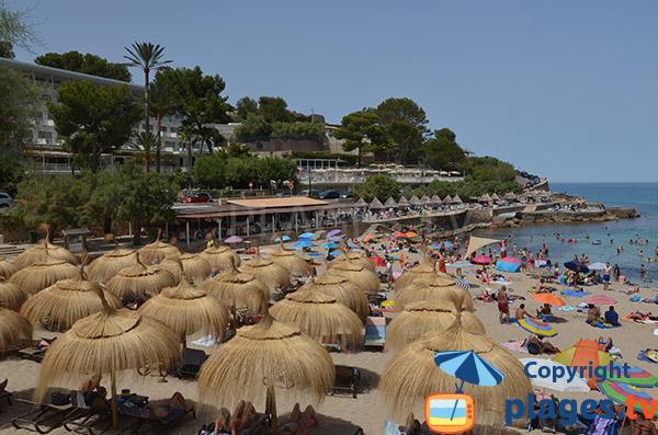 Restaurant sur la plage de Cala Molins - Cala Sant Vicenc