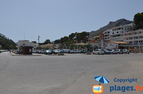 Parking de la Cala Molins - Cala Sant Vicenc