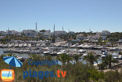Port de Cala d'Or en Espagne à Majorque - Iles Baléares