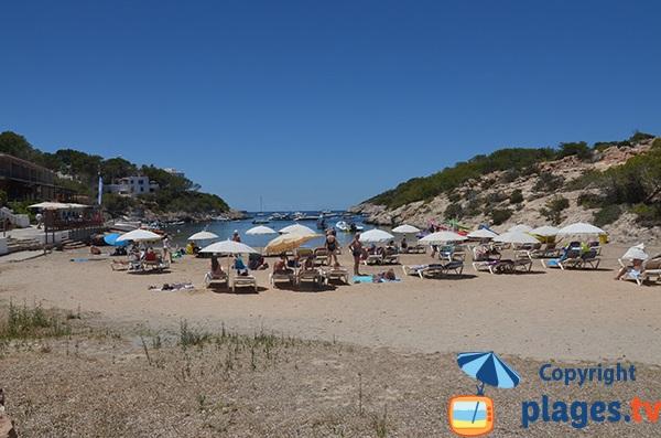Photo de la cala de Portinatx - Ibiza