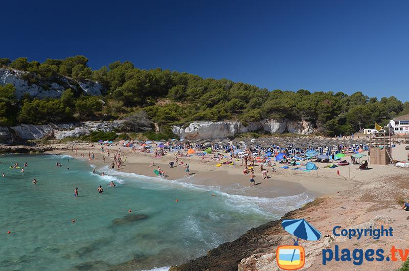 Crique de Cala Romantica à Majorque