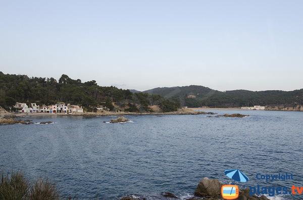 Cala de S'Alguer et plage de Castell - Palamos