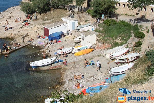 Port de pêcheurs à l'Escala - Espagne