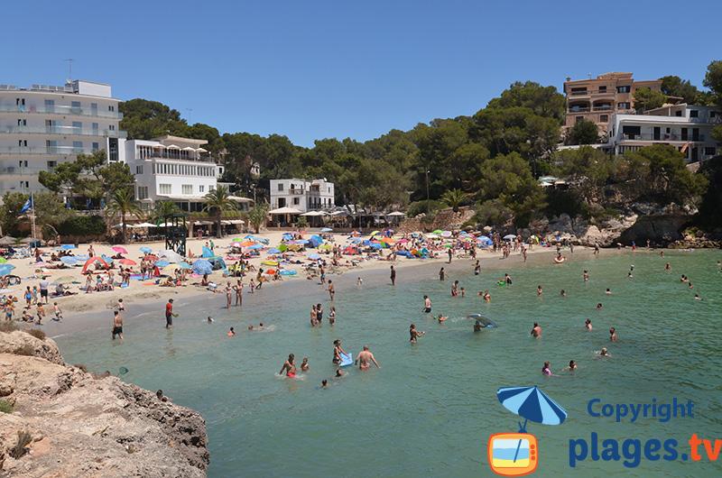 Cala de Santanyi : une belle calanque à l'est de Majorque