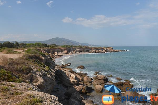 Photo de la Cala de Sol de Riu à Vinaros - Espagne