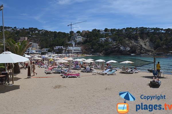 Location de matelas dans la Cala Vadella - Ibiza