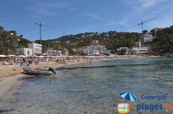 Belle plage à Ibiza - Cala Vadella