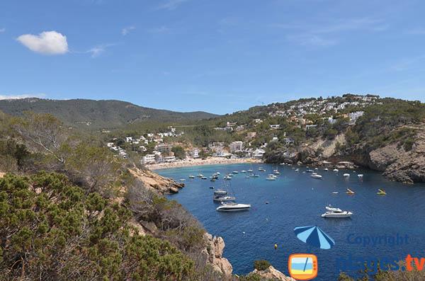 Photo de la Cala Vadella à Ibiza - Sant Josep de sa Talaia