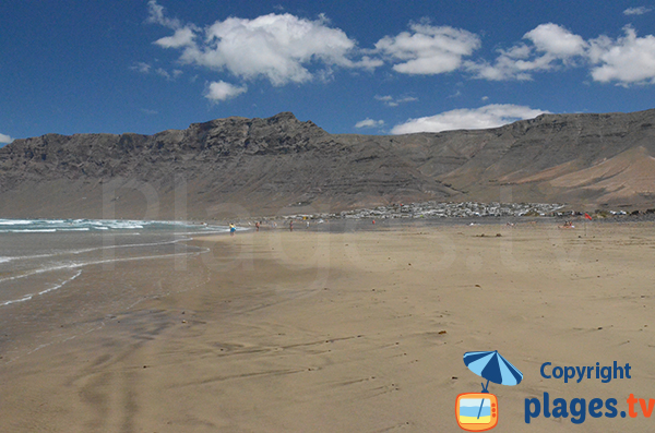 Famara and its beach - Lanzarote