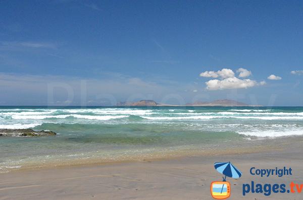 Spot de surf à Lanzarote - Famara