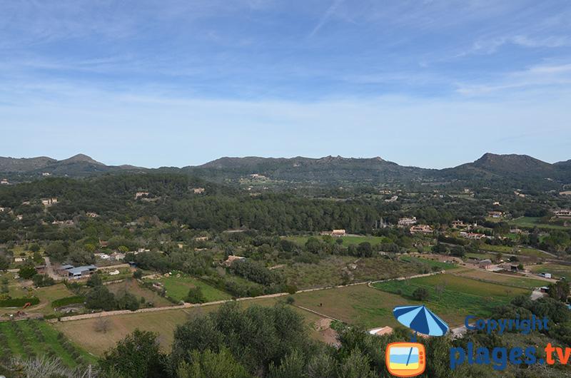 Campagne autour d'Arta à Majorque