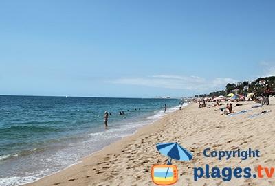 Canet de Mar la plage